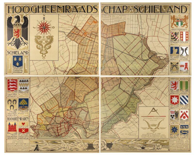 Hoogheemraadschap Schieland – Pieter Willem van Baarsel, 1928