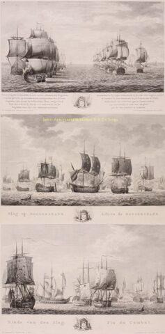 Slag bij de Doggersbank – Matthias de Sallieth naar Frederik Reitz, 1781