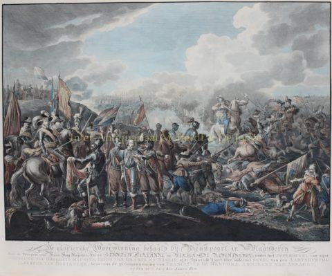 Slag bij Nieuwpoort – Matthias de Sallieth naar Dirk Langedijk, 1783