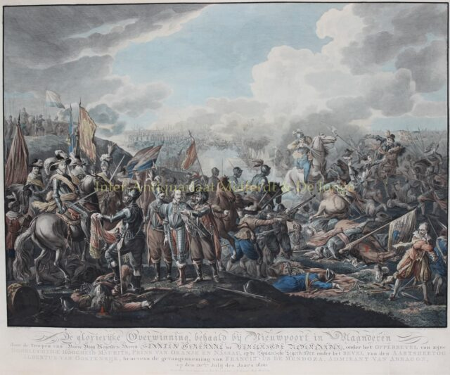 Slag bij Nieuwpoort - Matthias de Sallieth naar Dirk Langedijk