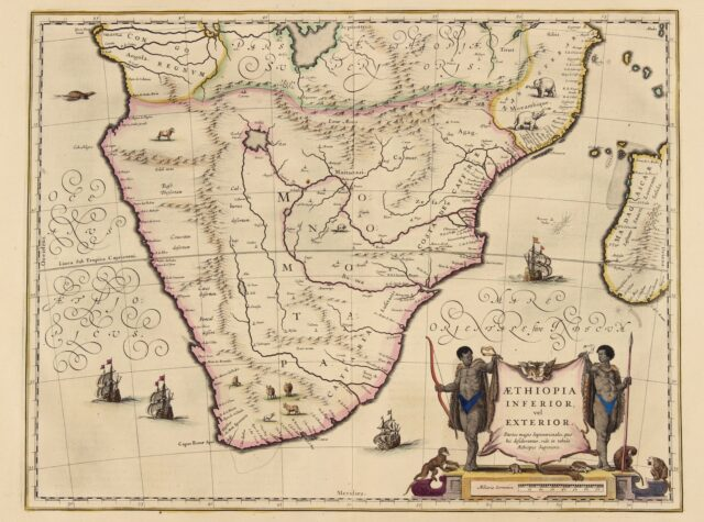 Southern Africa - Blaeu