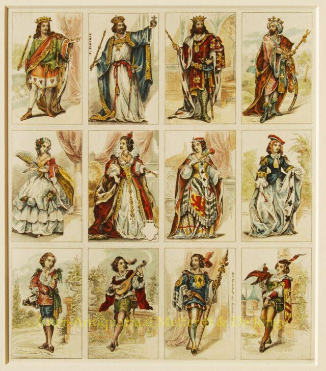 Antieke speelkaarten - Ferdinand Piatnik