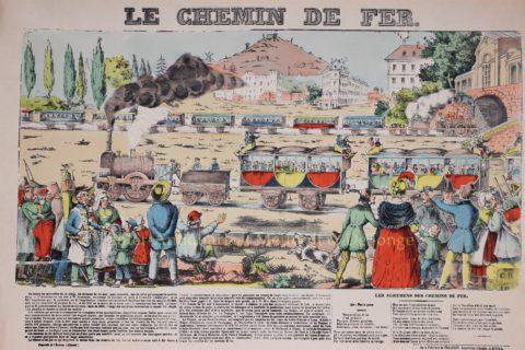 De eerste spoorwegen – Épinal, ca. 1840