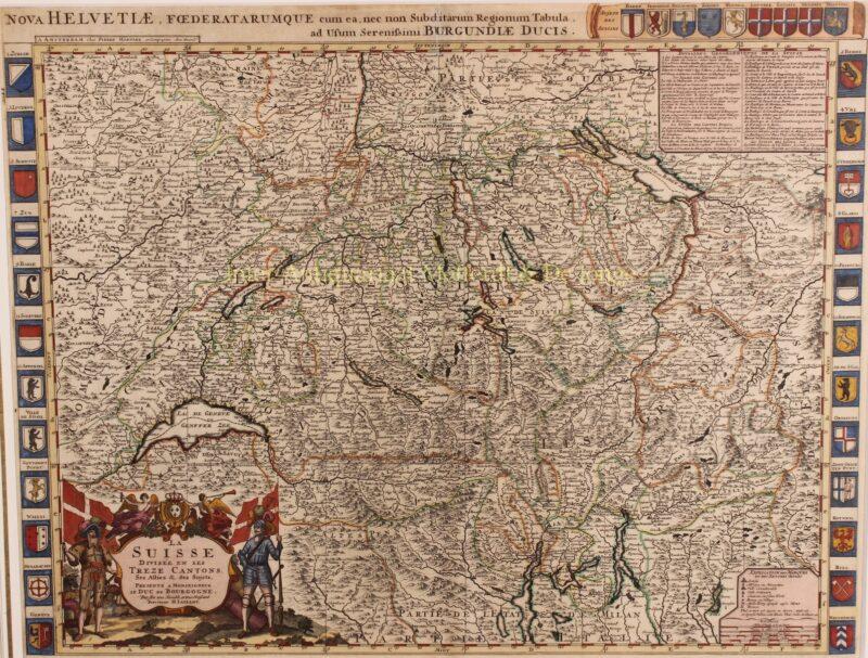 Zwitserland – Hubert Jaillot + Pieter Mortier, 1696-1708