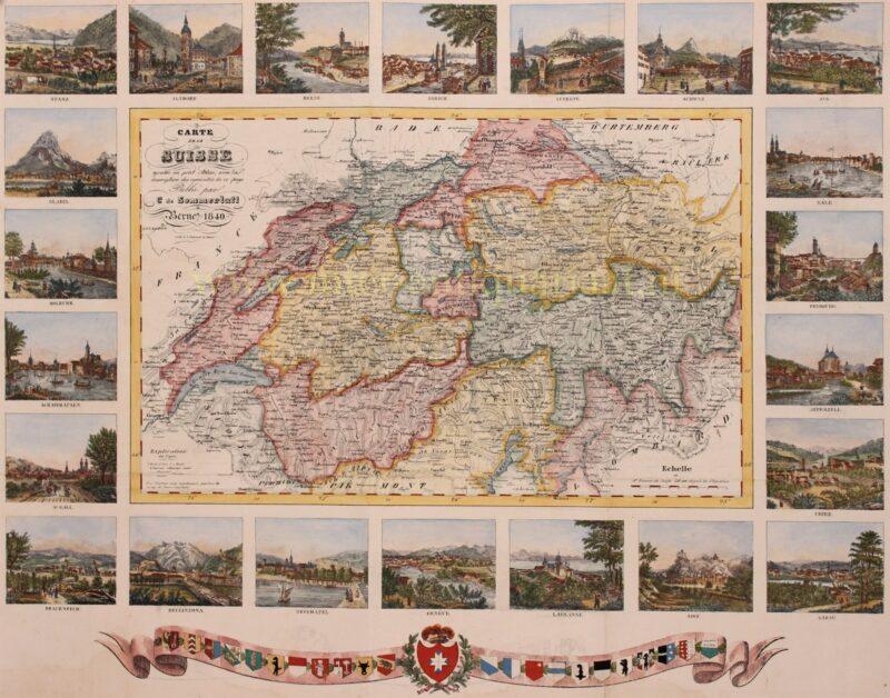 Zwitserland – Johann Schmid + Christian Sommerlatt, 1840