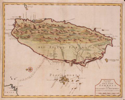 Taiwan, Nederlands-Formosa – François Valentijn, 1724-1726