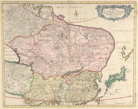 Tartary, China, Japan – De Wit, 1680