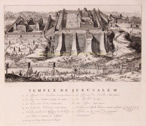 Tempel van Salomo – Romeijn de Hooghe, 1715