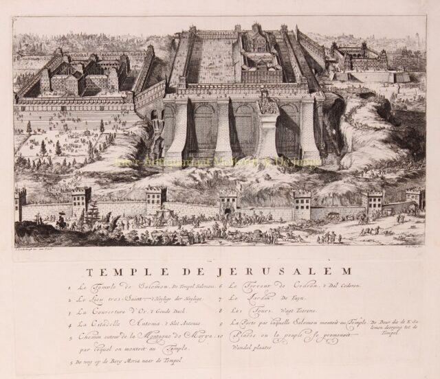 Eerste Joodse Tempel Jeruzalem