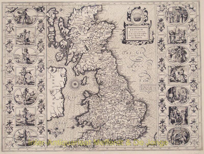 Groot Brittannië – John Speed, 1616
