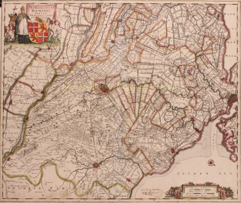 Utrecht – Justus Danckerts, 1700