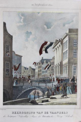 Utrechtse Vrijwillige Jagers – Reinier Craeyvanger, 1831