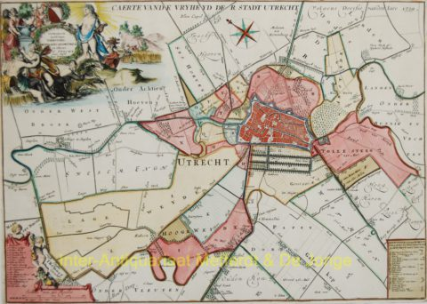Vrijheid van Utrecht – Specht + Ottens, 1696