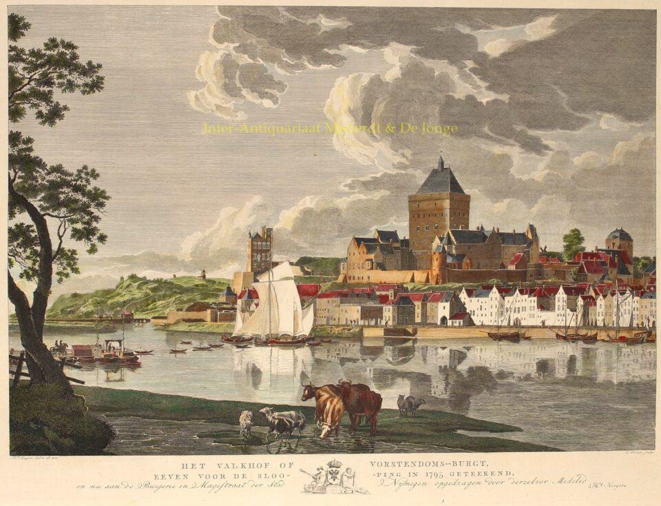 Valkhof Nijmegen - Ernst Thelot naar Hendrik Hoogers