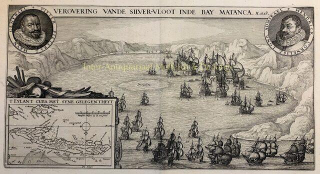 Verovering van de ZIlvervloot door Piet Hein in 1628