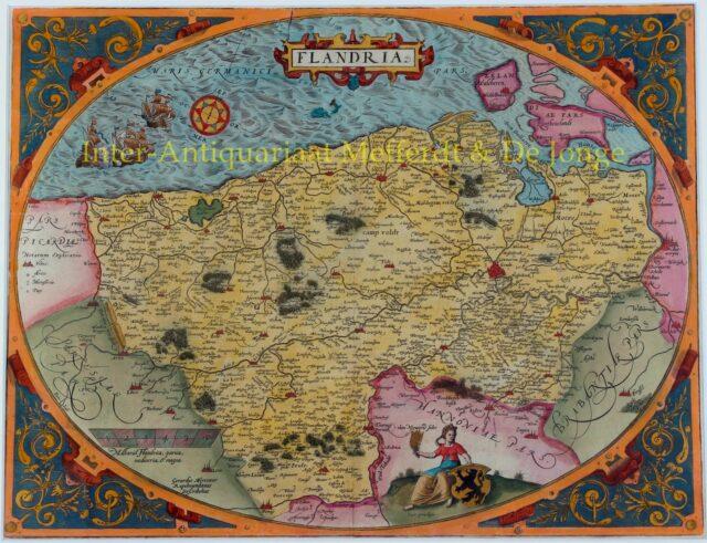 Vlaanderen - Arbraham Ortelius