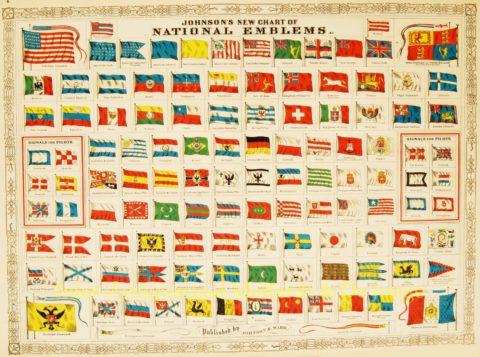 Vlaggenkaart, 1868