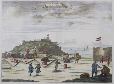 WIC forten (Senegal) – Olfert Dapper, 1688