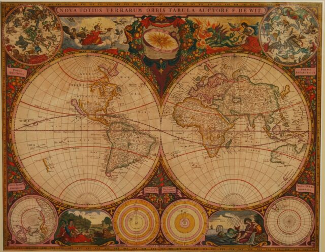 World map - Frederick de Wit