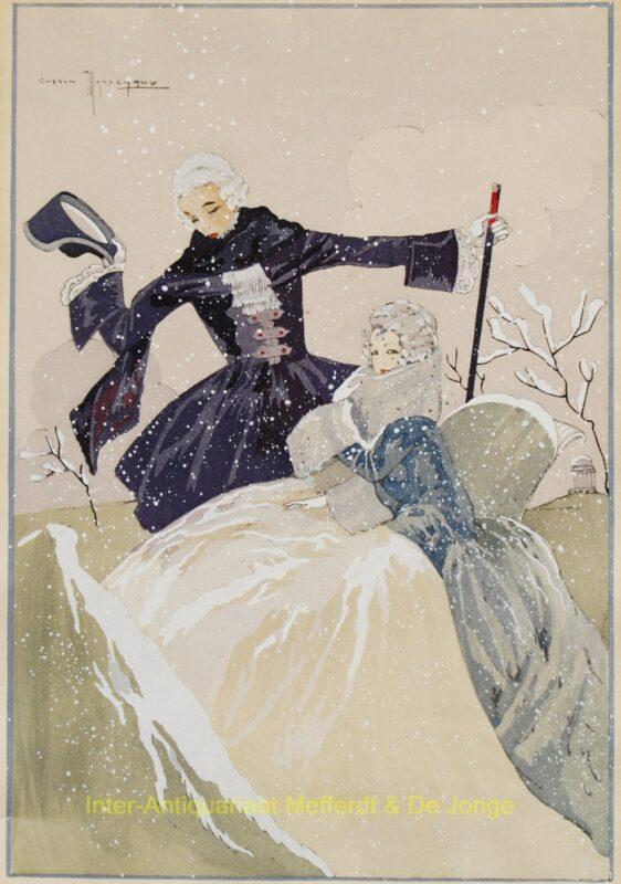 Het sneeuwt – Gaston Maréchaux, ca. 1920