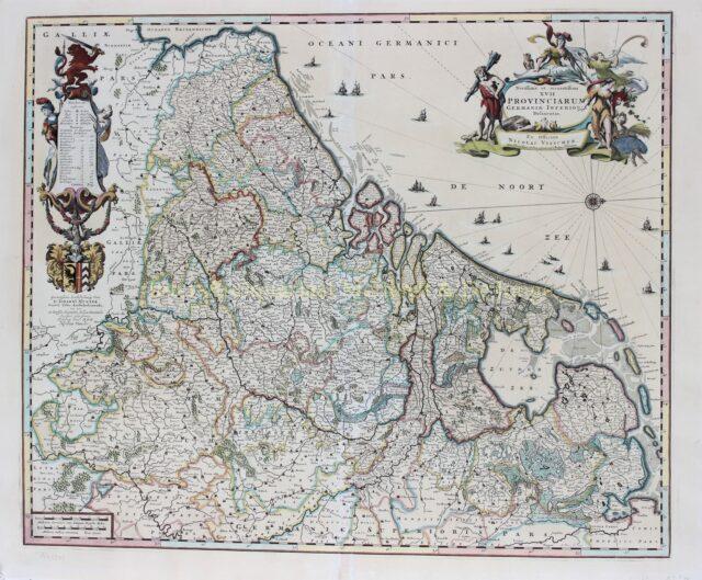 Zeventien Provinciën - Nicolaas Visscher