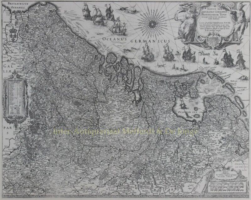 Zeventien Provinciën – Willem Blaeu, 1630