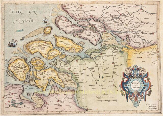Zeeland - Gerard Mercator