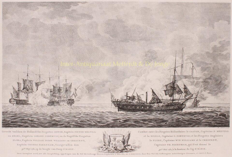 Zeeslag bij Cadiz, 1781