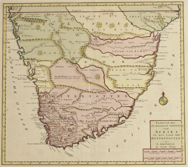 Southern Africa - Isaak Tirion