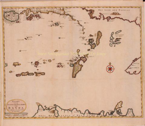 Molukken, Banda Eilanden, Australië – François Valentijn, 1724-1726