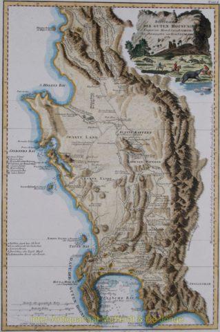 Kaap de Goede Hoop, Cape of Good Hope – De la Rochette, 1789
