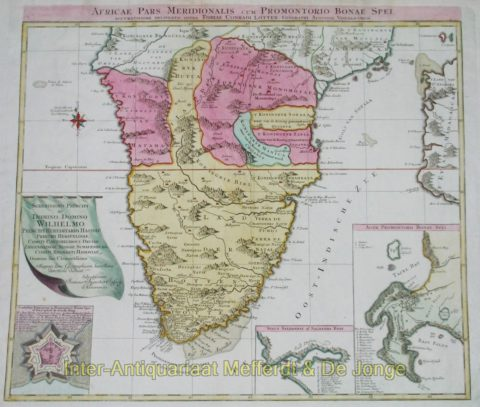 Zuidelijk Afrika – Tobias Lotter, ca. 1730