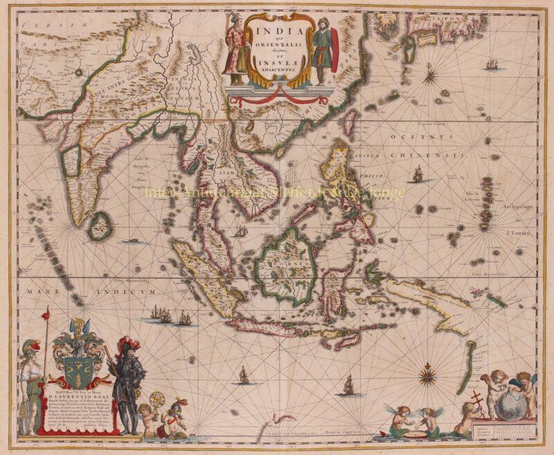 Zuidoost-Azië – Willem Blaeu, 1635-1664