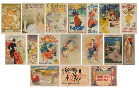 Les Maîtres de l'Affiche, 1895-1900