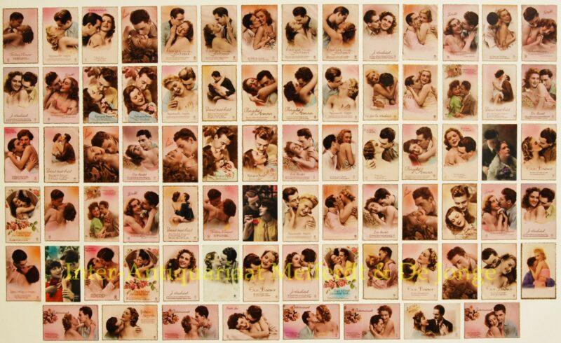 postkaarten collectie 1930