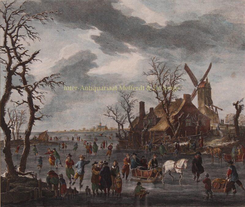 Hollands ijsgezicht – Carl Conti naar Franz de Paula Ferg, 1786-1795