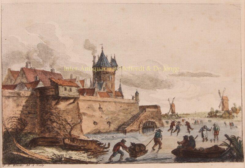 Winterlandschap – Franz Edmund Weirotter, 1760-1775