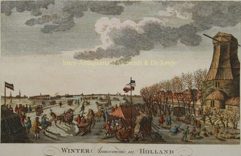 Winter amusement – John June, 1778/1779