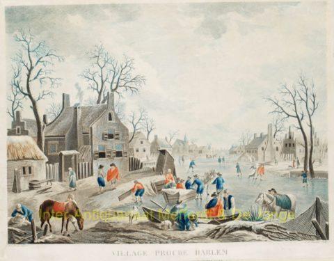 winter scene – Haarlem