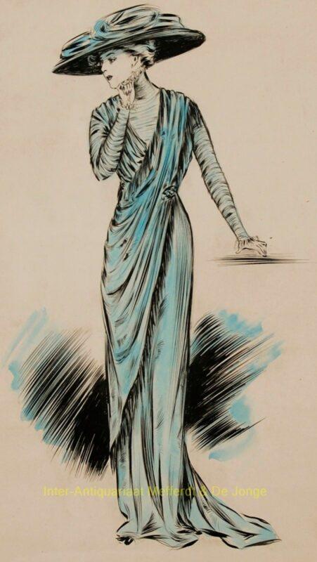 Mode ontwerpen 1908-1910