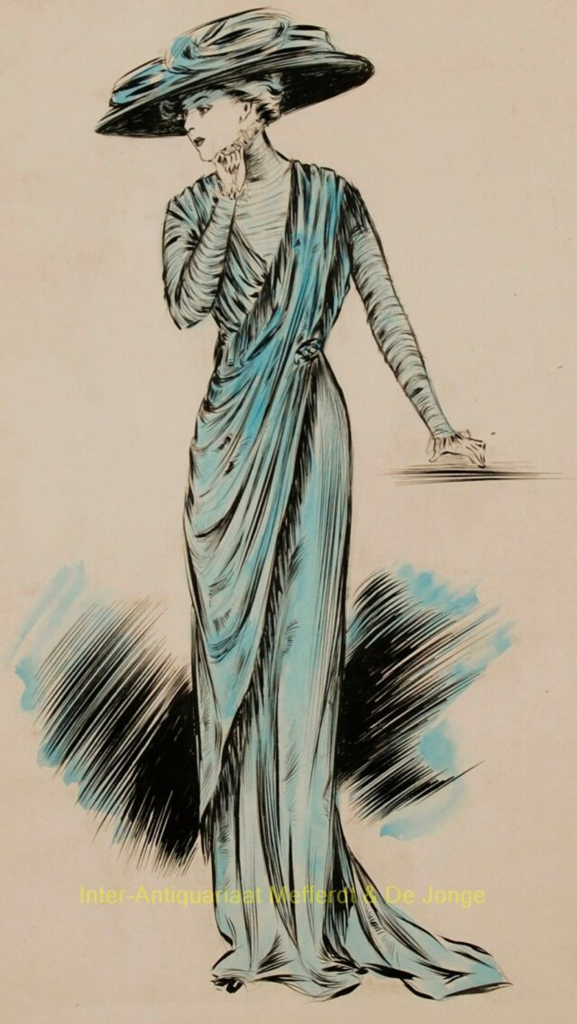 Fashion drawings 1908-1910