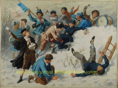Wintergezicht – Frédéric Théodore Lix